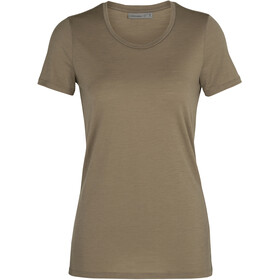 Icebreaker Tech Lite SS Low Crew Top Women flint